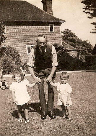 James Smith and grandchildren
